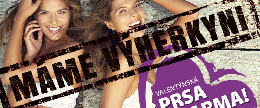 Valentýnská prsa ZDARMA - soutěž